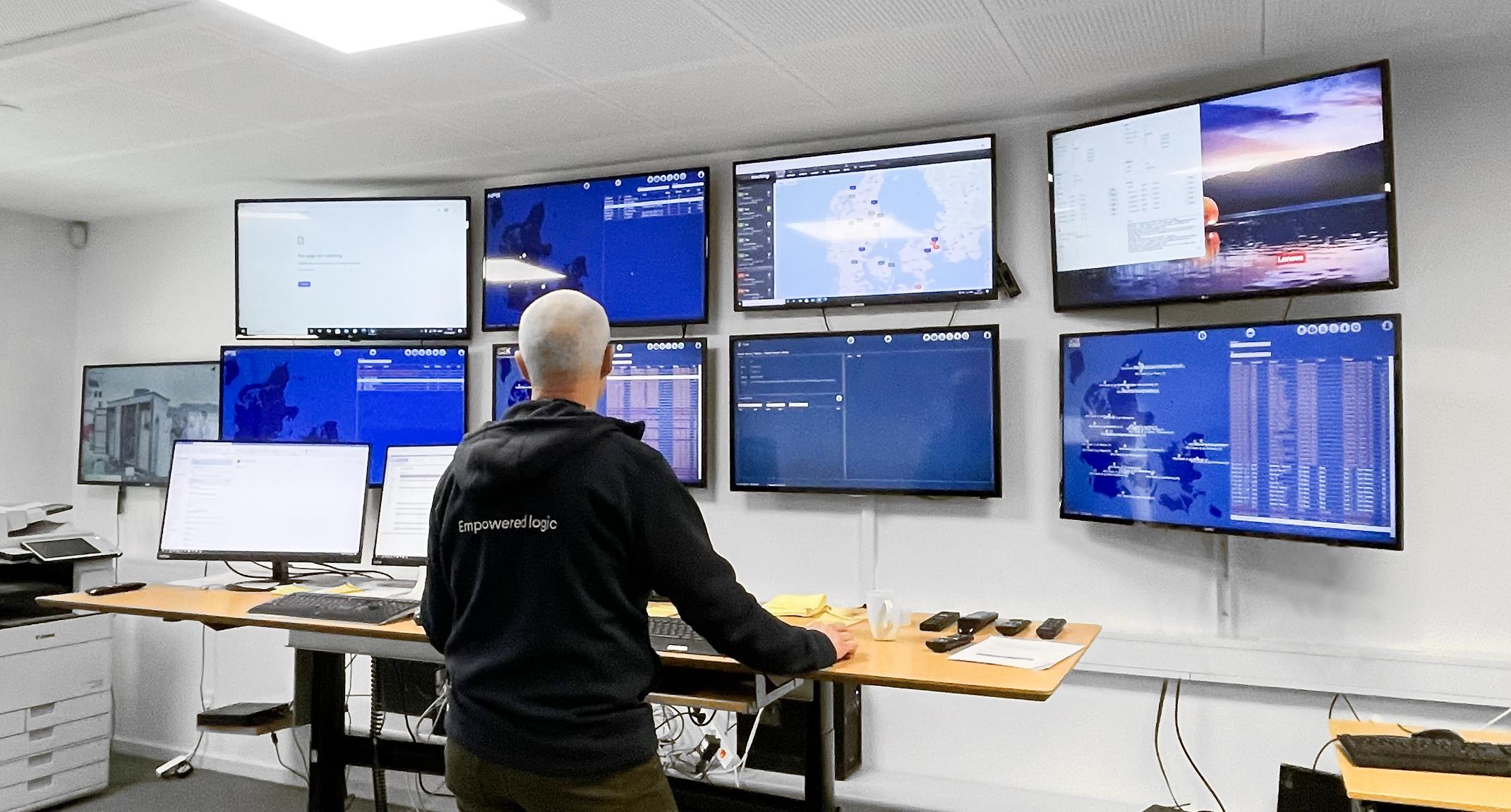 Overvågning og teknisk support